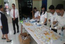 Sat Resnarkoba Polres Minsel Lakukan Pendampingan Tes Urine di Balai Diklat Pelayaran