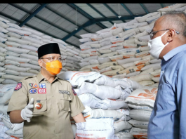 Tinjau Gudang Bulog, Gubernur Bengkulu Pastikan Stok Beras untuk Warga Aman