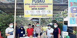 Polres Minsel Berikan Edukasi Pada Petugas Posko Covid-19 di Desa dan Kelurahan
